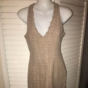 BCBGMaxAzria Dresses - BCBG Maxazria  tweed dress and jacket sz small